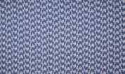 Embroidered Denim Fabric  Blue