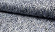 Tweed Coating Fabric  Blue