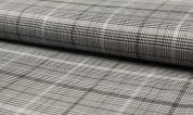 Stretch Suiting Fabric  Grey