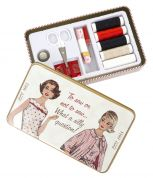 Simplicity Vintage Vintage Style Sewing Tin