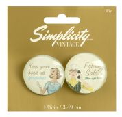 Simplicity Vintage Style Buttons