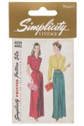 Simplicity Vintage Style Magnet