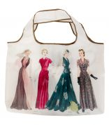 Simplicity Vintage Style Folding Tote Bag