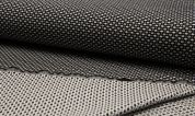 Double Face Jacquard Fabric  Black