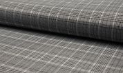 Stretch Suiting Fabric  Black & White