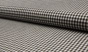 Wool Suiting Fabric  Black & White