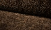 Textured Fur Fabric  Brown