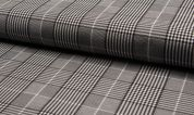 Bengaline Stretch Suiting Fabric  Grey