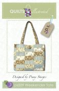 Quilts Illustrated Accessories Sewing Pattern Weekender Tote Bag