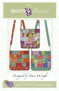 Quilts Illustrated Accessories Sewing Pattern Mini Messenger Bag