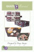 Quilts Illustrated Accessories Sewing Pattern Zips N Go Tote Bag