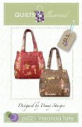 Quilts Illustrated Accessories Sewing Pattern Veranda Tote Bag