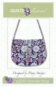 Quilts Illustrated Accessories Sewing Pattern Islander Bag