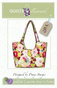 Quilts Illustrated Accessories Sewing Pattern Carole Anns Bag
