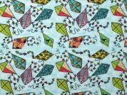 Digital Print Cotton Fabric  Multicoloured