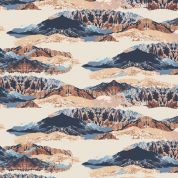 Art Gallery Fabrics Mountain Mirror Rayon Dress Fabric