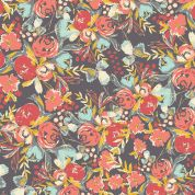 Art Gallery Fabrics Flowerfield Sunset Rayon Dress Fabric