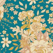 Art Gallery Fabrics Floral Universe Rayon Dress Fabric