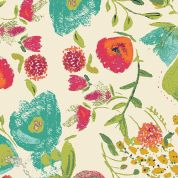Art Gallery Fabrics Budquette Abloom Rayon Dress Fabric