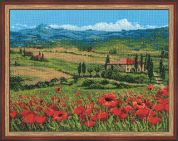 RIOLIS Counted Cross Stitch Kit Tuscany