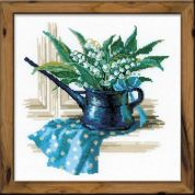 RIOLIS Counted Cross Stitch Kit May Morning