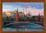 RIOLIS Counted Cross Stitch Kit Moscow