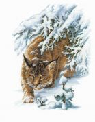 RIOLIS Counted Cross Stitch Kit Lynx