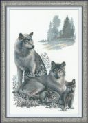 RIOLIS Counted Cross Stitch Kit Wolves