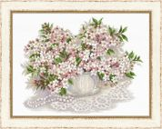 Riolis Counted Cross Stitch Kit Cherry blossom