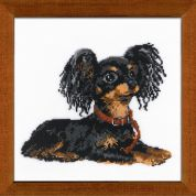 RIOLIS Counted Cross Stitch Kit Russian Toy Terrier