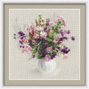 RIOLIS Counted Cross Stitch Kit Summer Bouquet