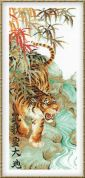 RIOLIS Counted Cross Stitch Kit Tiger Song of Victory
