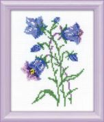 RIOLIS Counted Cross Stitch Kit Blue Bells