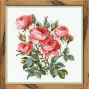 Riolis Counted Cross Stitch Kit Garden Roses