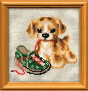 Riolis Counted Cross Stitch Kit Naughty Child