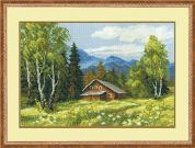 RIOLIS Counted Cross Stitch Kit Swiss Chalet