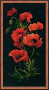 RIOLIS Counted Cross Stitch Kit Poppies