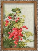 RIOLIS Counted Cross Stitch Kit Red Currant