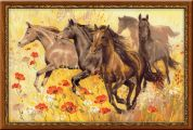 RIOLIS Counted Cross Stitch Kit Horses