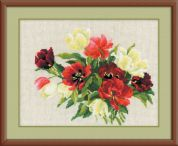 RIOLIS Counted Cross Stitch Kit Tulips