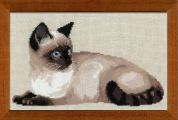 RIOLIS Counted Cross Stitch Kit Thai Cat