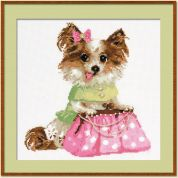 RIOLIS Counted Cross Stitch Kit Chihuahua