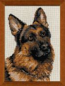 RIOLIS Counted Cross Stitch Kit German Shepherd
