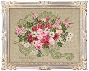RIOLIS Counted Cross Stitch Kit Wedding Bouquet