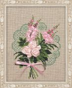RIOLIS Counted Cross Stitch Kit Bouquet of Tenderness