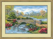 RIOLIS Counted Cross Stitch Kit Summer View