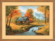 RIOLIS Counted Cross Stitch Kit Autumn View
