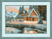 RIOLIS Counted Cross Stitch Kit Winter View