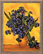 RIOLIS Counted Cross Stitch Kit Van Gogh Irises