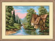 RIOLIS Counted Cross Stitch Kit The Mill